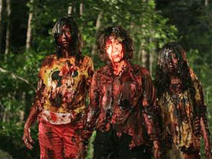 zombies of dark forest